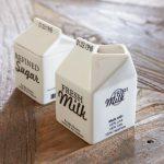Mlecznik Carton Jar Milk Riviera Maison
