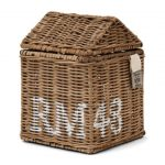 Rattanowe pudełko na chusteczki Rustic Rattan Riviera Maison